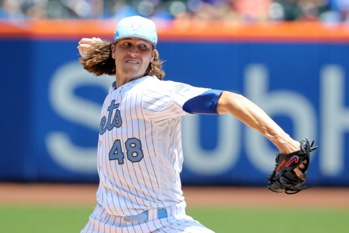Jacob deGrom Dominates in Every Way Possible, Mets Win Series Finale 5-1