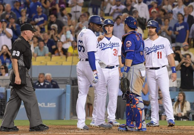 New York Mets Amazin' News, 6/22/17: Dodgers Win Big Once Again, Yasiel Puig and Mets Players Get Heated 1