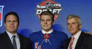 New York Rangers Select Forward Lias Andersson, 7th Pick in NHL Draft (Highlights) 2