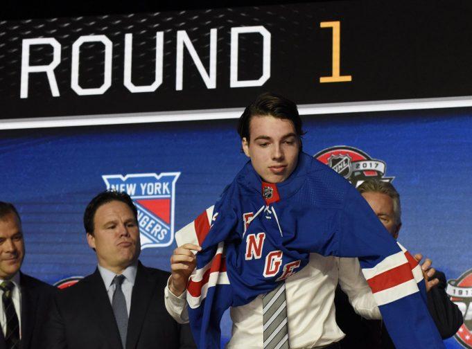 New York Rangers Select Center Filip Chytil 21st Overall in 2017 NHL Draft (Highlights) 2