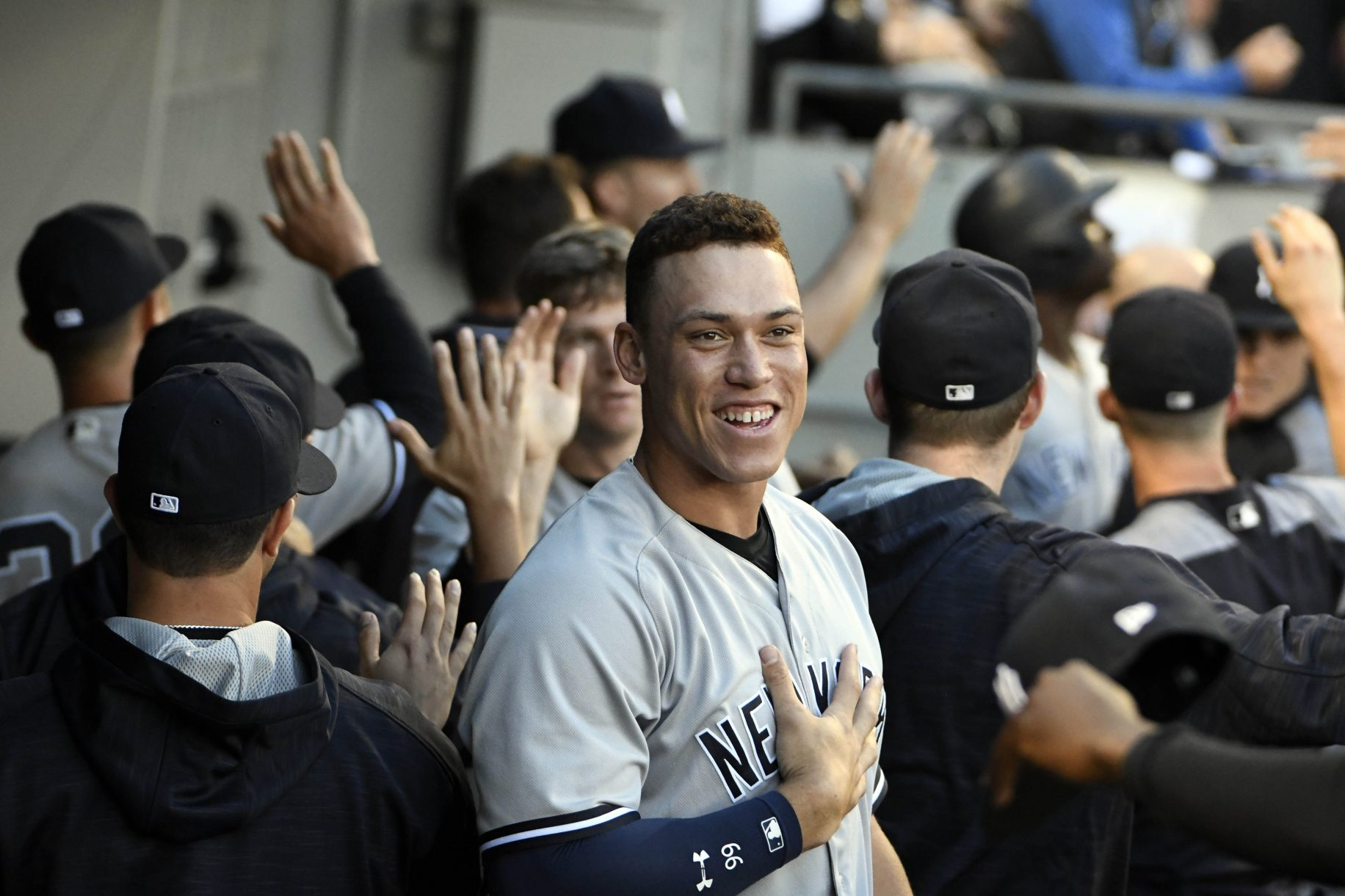 New York Yankees: Aaron Judge Spotted ...