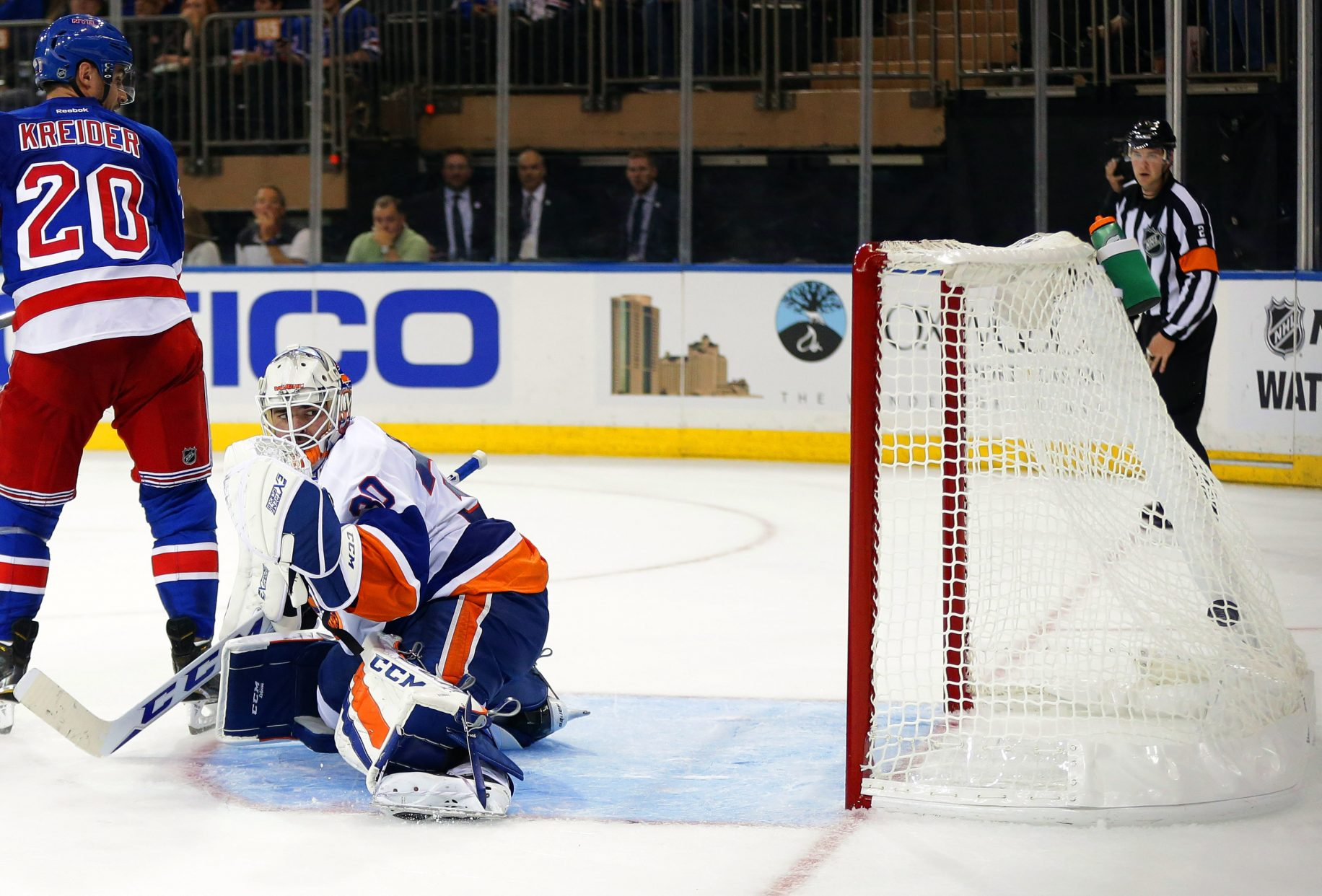 New York Islanders Lose Goaltender J-F Berube in NHL Expansion Draft