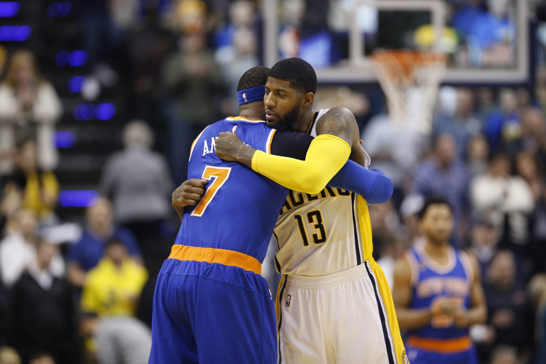 Paul George and Others Negate the Possibility of Trading Carmelo Anthony 5