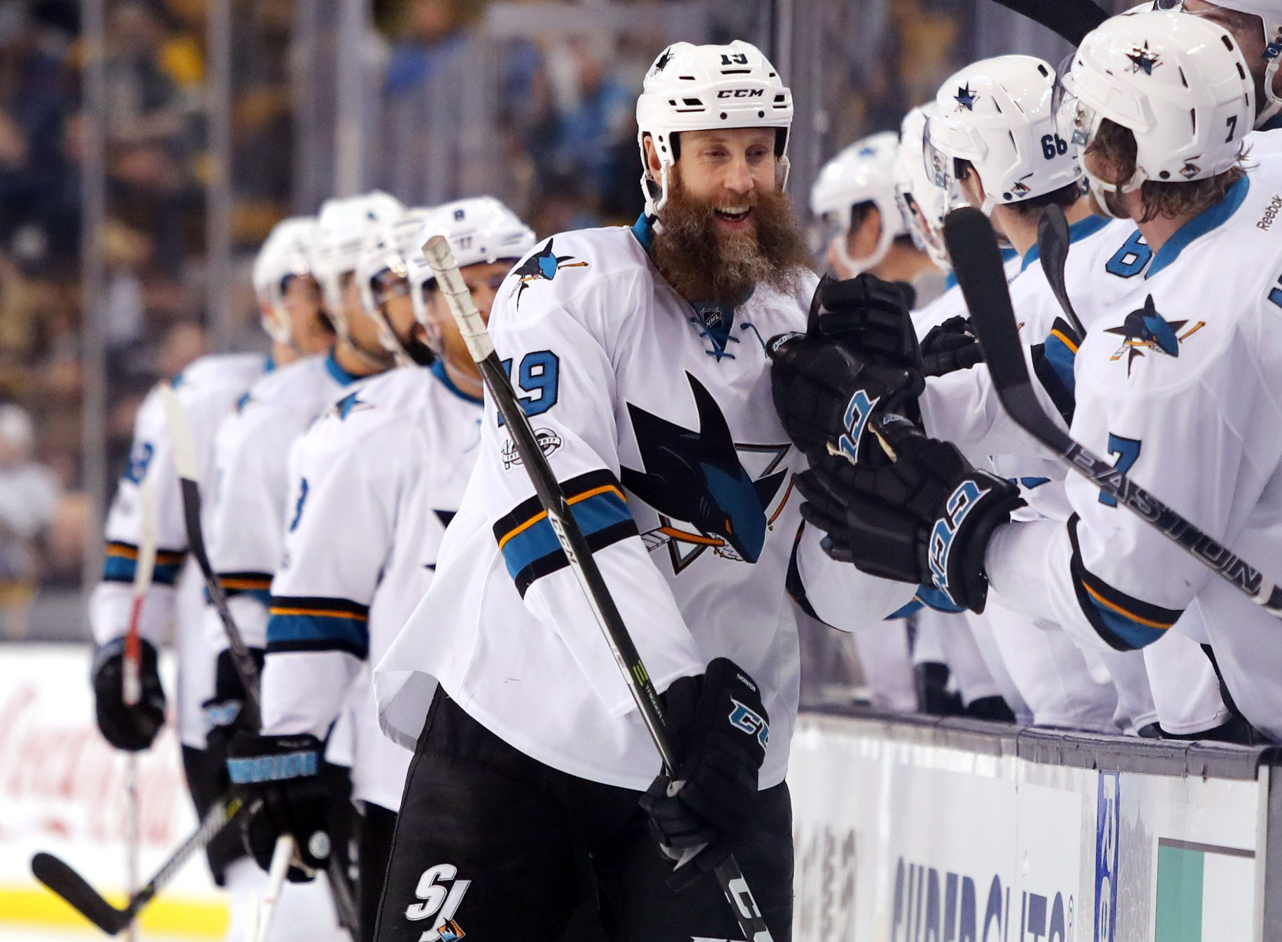 As the New York Rangers Focus on the Future, Joe Thornton Can Ease the Present