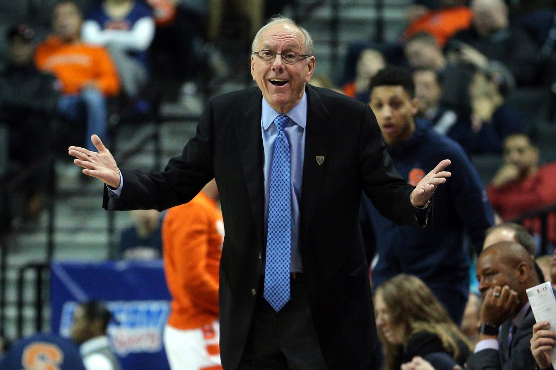 Jim Boeheim Defends Carmelo Anthony, Blasts the Triangle Offense 2
