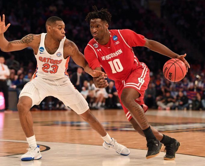 New York Knicks: Nigel Hayes Would be a Shrewd 2nd Round Selection