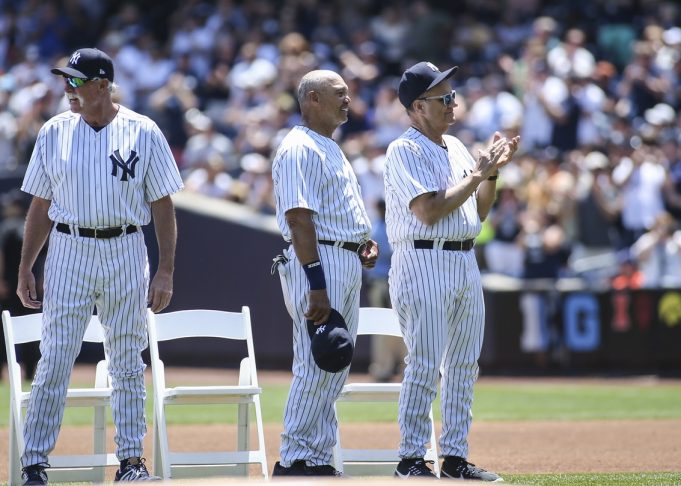 New York Yankees Celebrate Past Legends At 70th Annual Old-Timers' Day