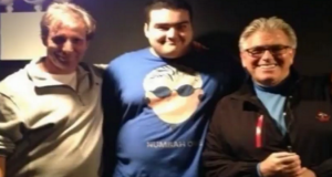 Mike Francesa's Weird 'Batting Stance' Pose for Photos Put To Music (Video) 2