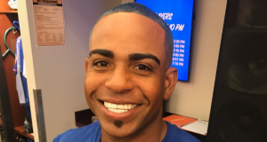No More Blonde: New York Mets' Yoenis Cespedes Makes Hair Blue (Photo)