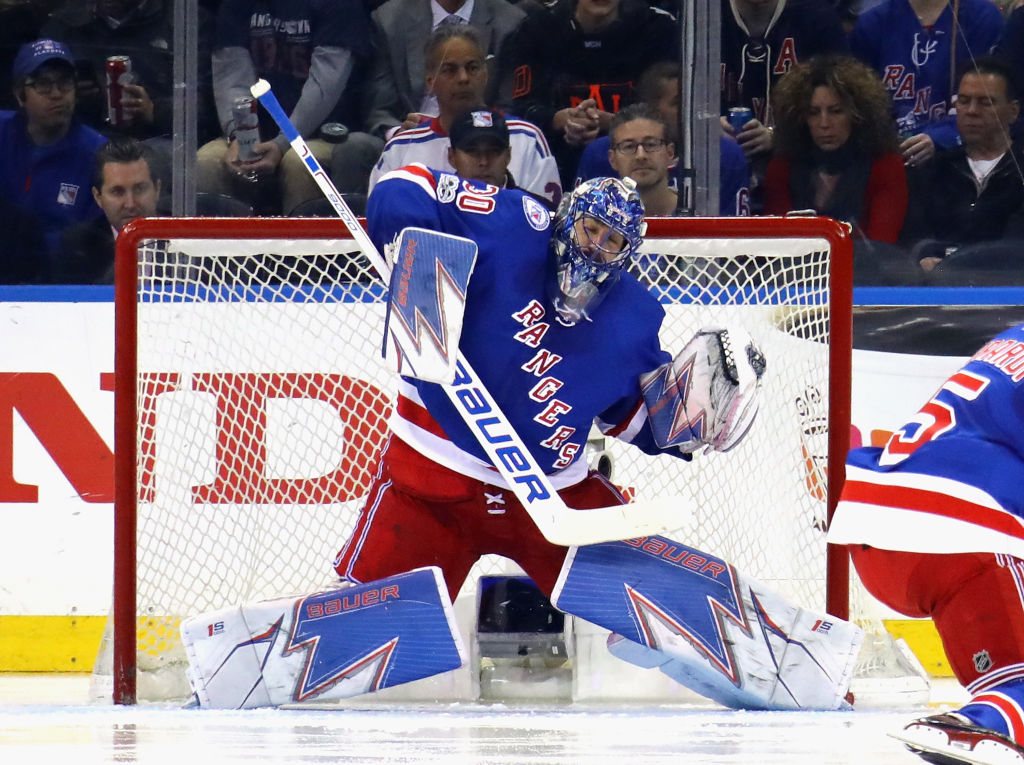 Henrik Lundqvist Shows Off His New Pads For The Upcoming Season 2