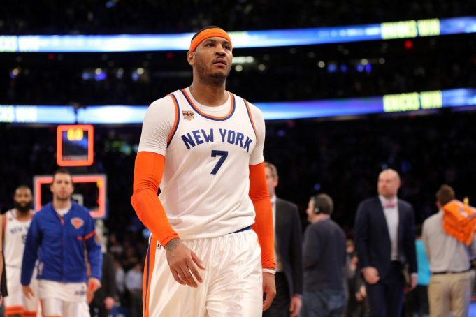 New York Knicks: Carmelo Anthony Must Continue Pursuing a Trade