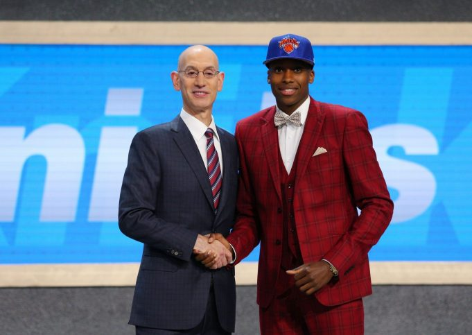New York Knicks Announce Frank Ntilikina Signed His Rookie Contract