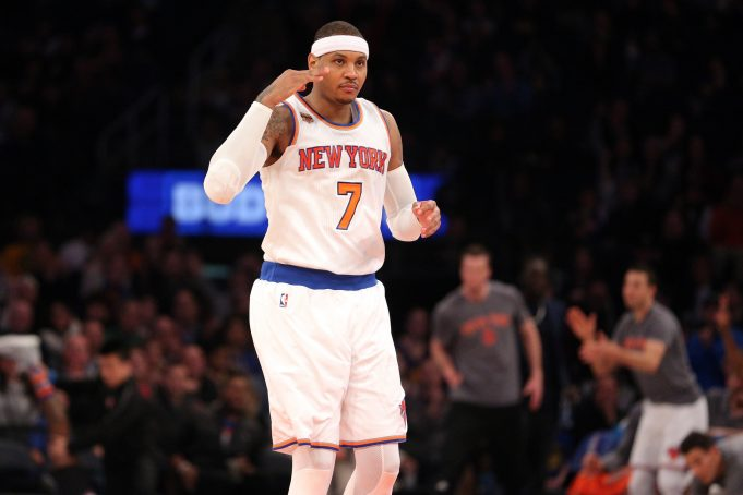 New York Knicks Paused Carmelo Anthony Trade Talks (Report)