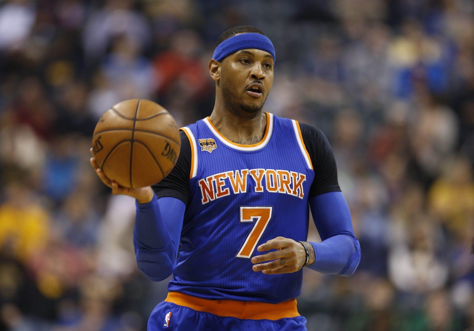 New York Knicks News Mix, 7/14/17: Melo Frustrated, Perry 5-Year Deal