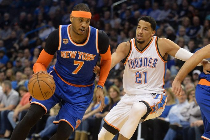 New York Knicks Must Push for Carmelo Anthony to OKC