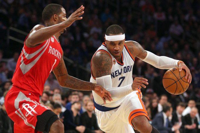 New York Knicks News Mix, 7/25/17: Rockets Are Carmelo Anthony's 'Primary Objective'