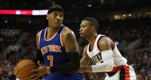 Damian Lillard, C.J. McCollum Should Be Enough To Sway Knicks' Carmelo Anthony