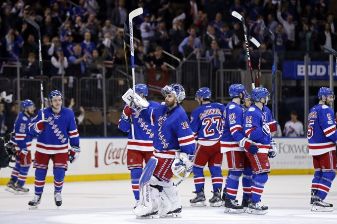 Are the New York Rangers a Threat in the Improved Metropolitan Division?