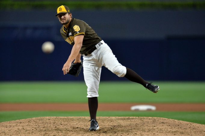 New York Yankees Interested Padres Reliever Brad Hand (Report)