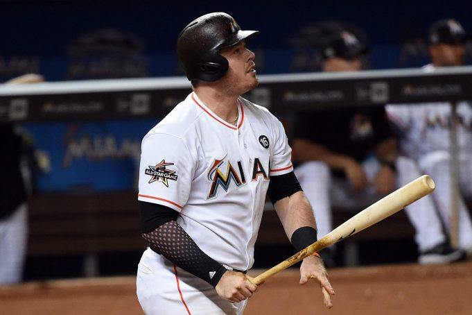 New York Yankees Seeking To Acquire Miami Marlins' Justin Bour (Report)