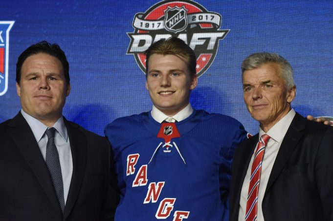 New York Rangers Sign First Round Pick Lias Andersson