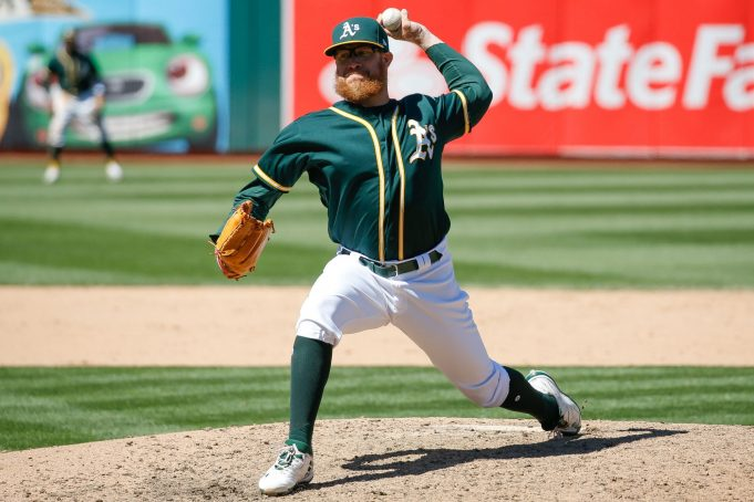 New York Yankees Interested In Athletics' Sean Doolittle (Report)