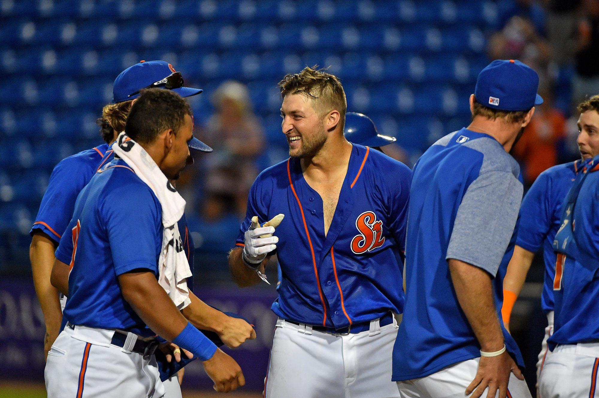 New York Mets: Tim Tebow Blasts Walk-Off Solo Shot