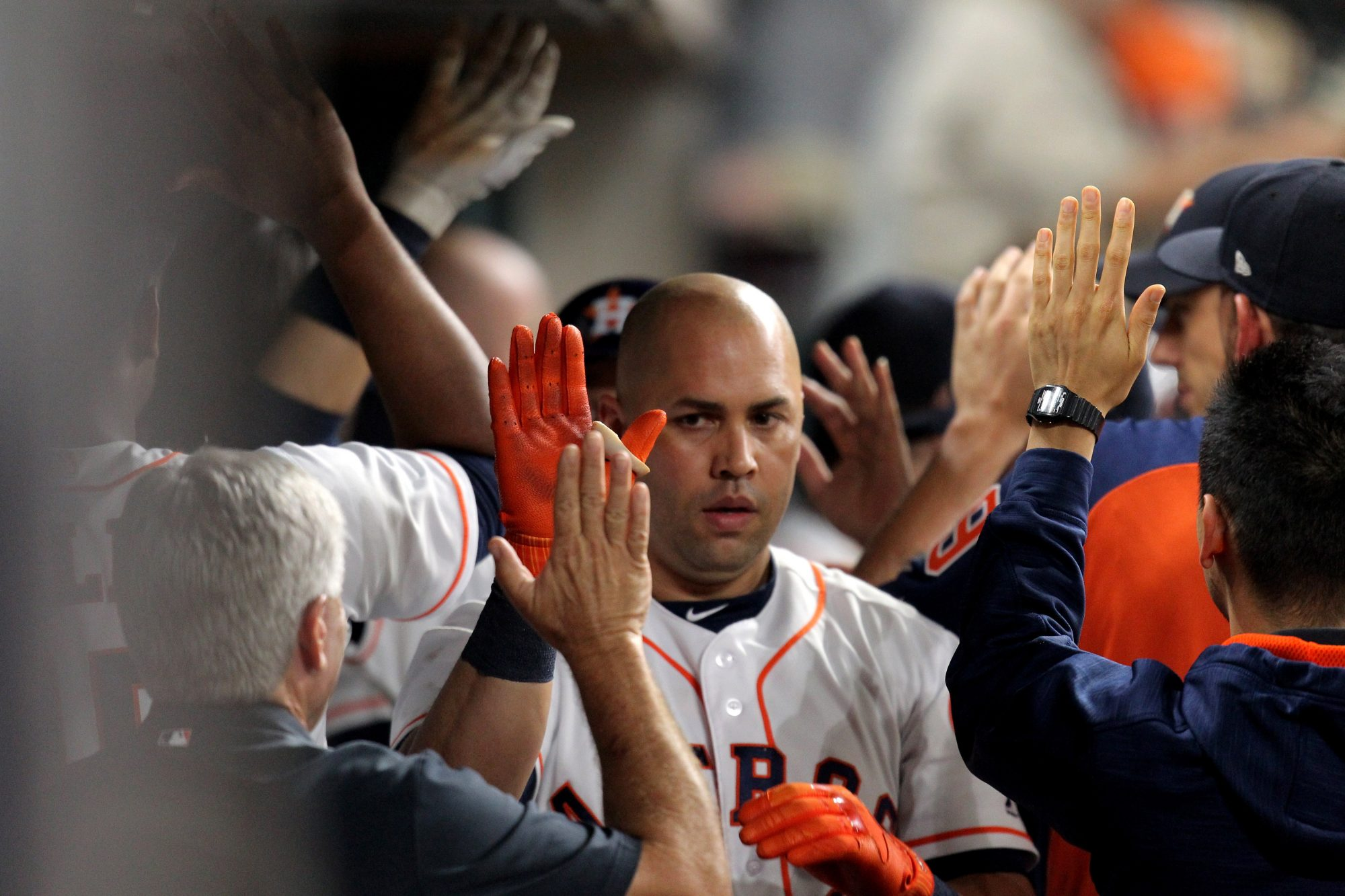 Houston Astros Hold Funeral For Carlos Beltran's Glove On Monday