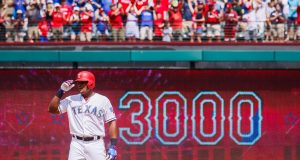Adrian Beltre Records 3,000th Hit (Video)