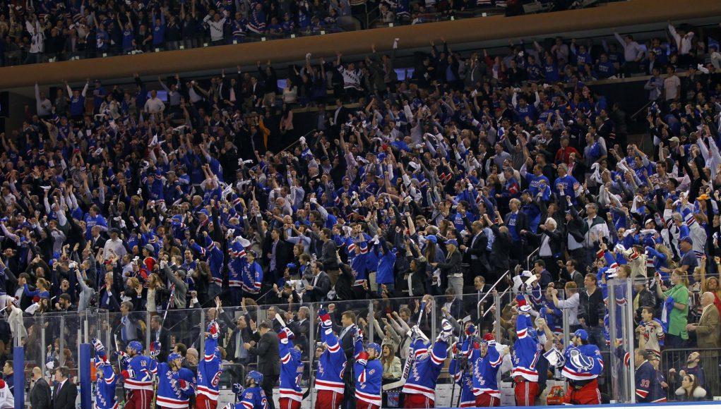 NY Sports Fandom Pom-Pom Waving Rankings: New York Rangers and the Rest 1