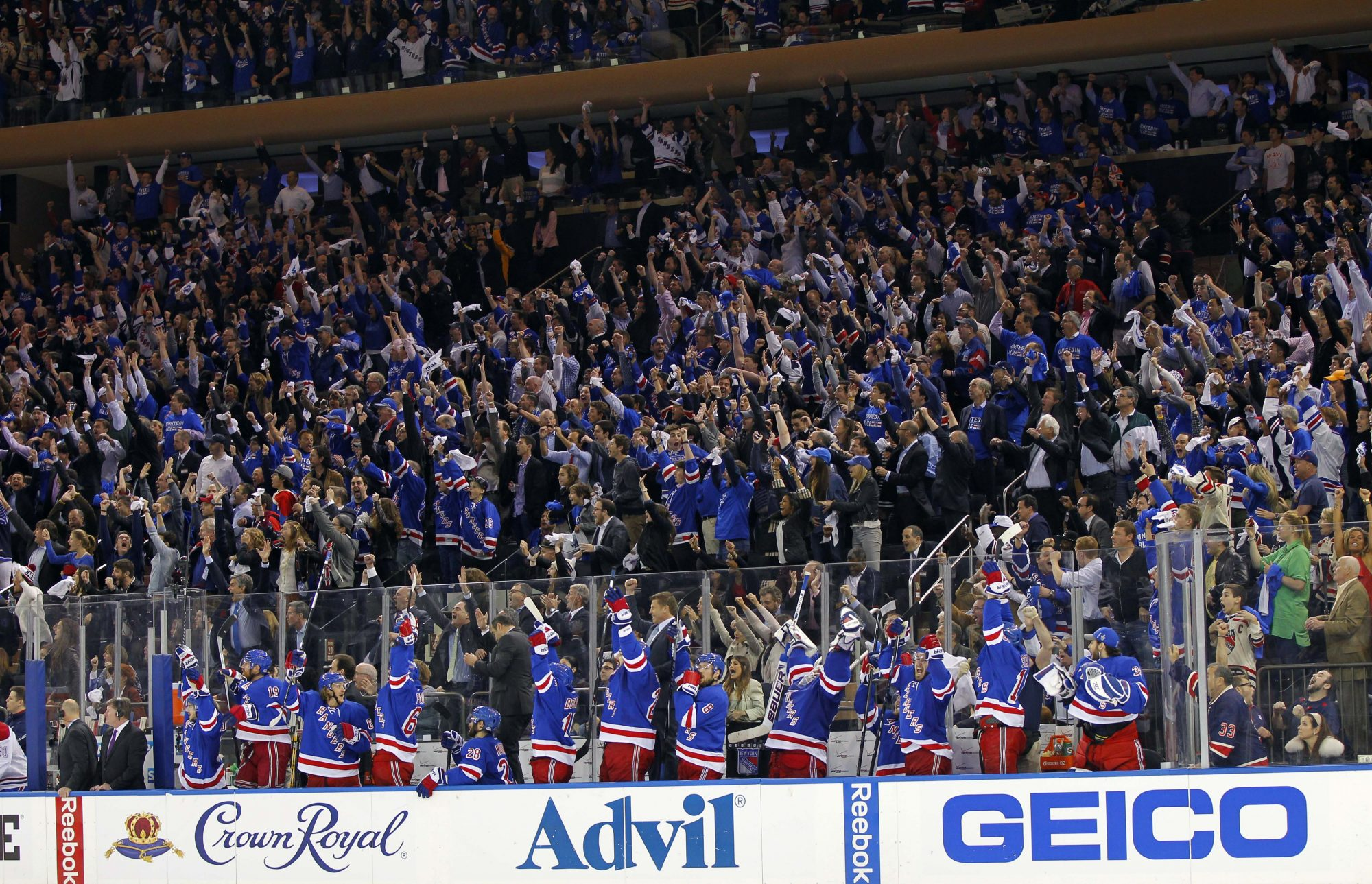 NY Sports Fandom Pom-Pom Waving Rankings: New York Rangers and the Rest 1