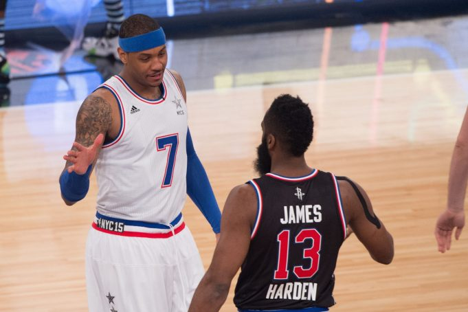 Rockets' James Harden: Carmelo Anthony Trade is 'Out of My Hands' 1