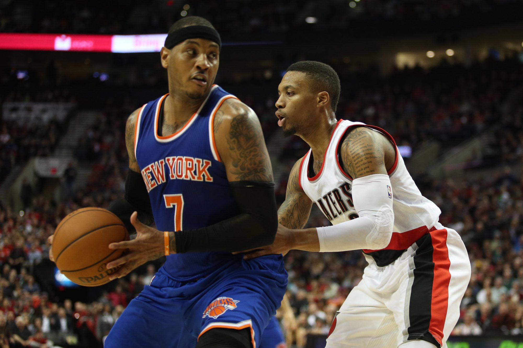 Shipping Carmelo Anthony to Portland is the Best Possible Solution