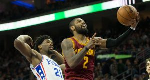 Kyrie Irving, Joel Embiid, Other NBA Stars React to 'NBA 2K18' Ratings (Video)
