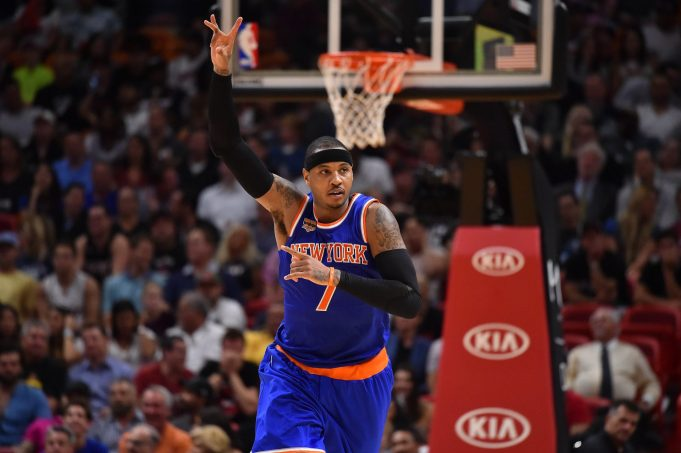 The Knicks Would Be Wise To Utilize Carmelo Anthony As Starting Power Forward 1