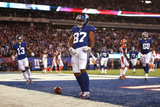 Sterling Shepard Appearance a Highlight of New York Giants' Jog-Through Practice
