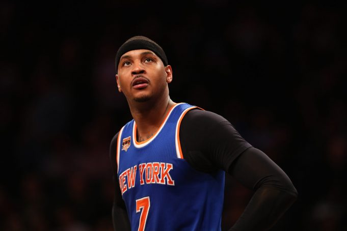 New York Knicks: Carmelo Anthony's Past Mistakes Have Taught Him Nothing
