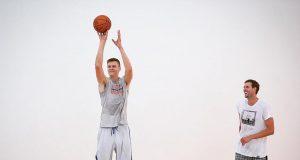 New York Knicks News Mix, 8/3/17: Kristaps Porzingis Works Out With Dirk 2