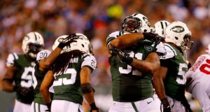 New York Jets: Sheldon Richardson vs. Brandon Marshall in the Snoopy Bowl 1