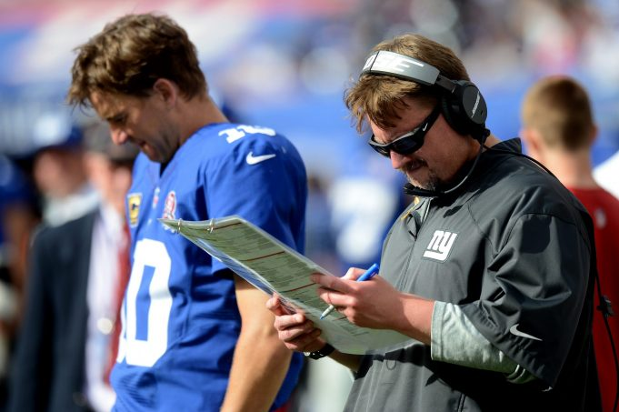 Giants' Ben McAdoo Labeling Eli Manning 'Rusty' Continues his Unique Criticism of QB