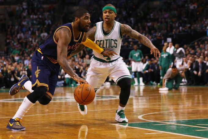Cleveland Cavaliers, Boston Celtics Talking Trade Involving Kyrie Irving and Isaiah Thomas (Report)