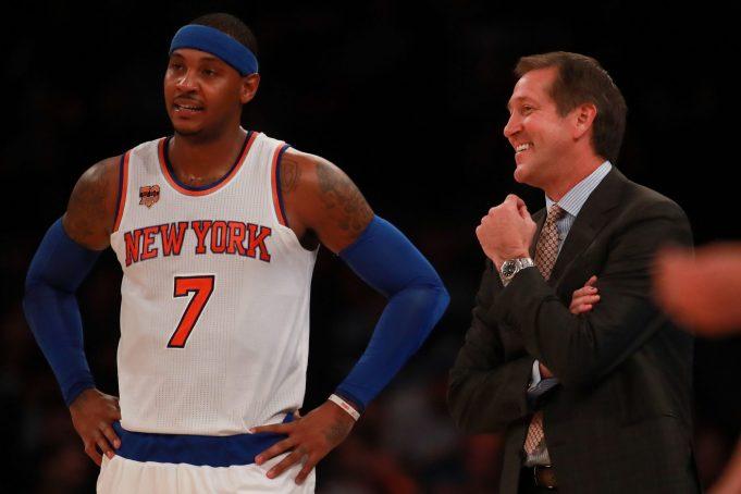 New York Knicks News Mix, 8/23/17: Jeff Hornacek At Carmelo Anthony Pickup Game