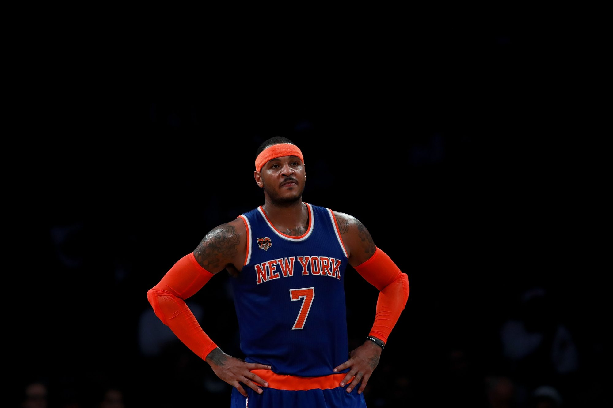 Carmelo Anthony, Knicks Are Left Standing in NBA Trade Edition of Musical Chairs 1