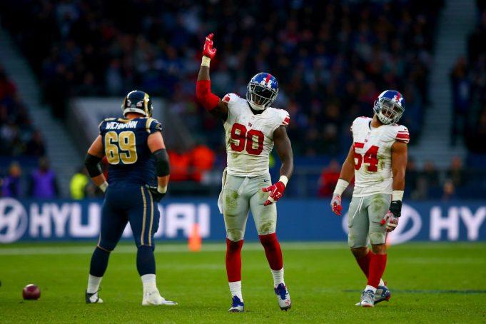 Dynamic New York Giants Duo Already Teasing Midseason Form