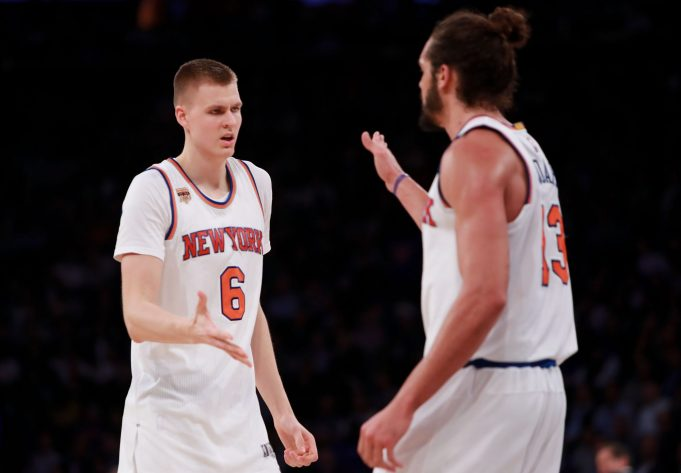 Joakim Noah or Not, the New York Knicks Cannot Trade Kristaps Porzingis for Kyrie Irving 1