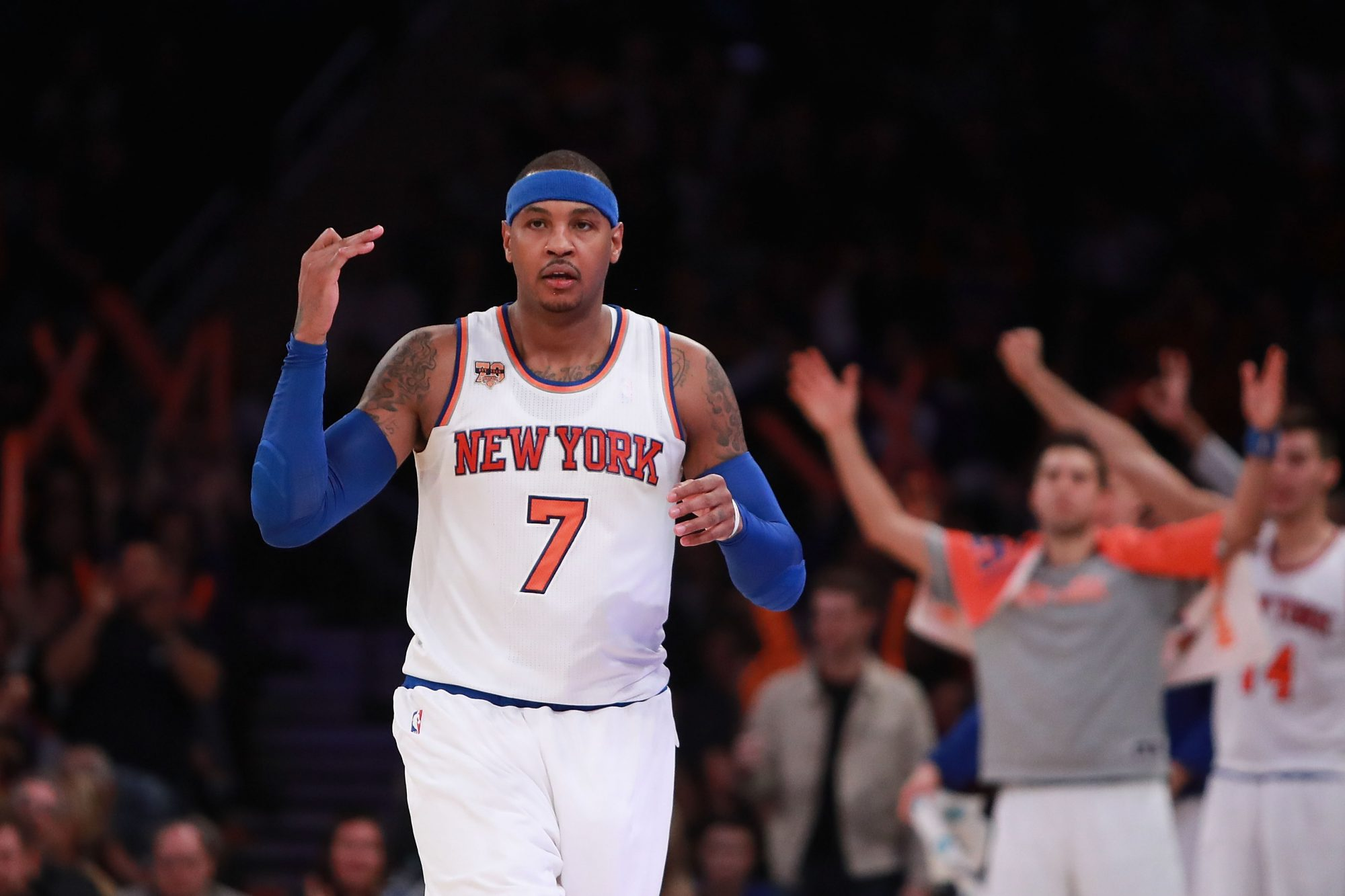 New York Knicks: How Carmelo Anthony Complements Each Top NBA Contender 2
