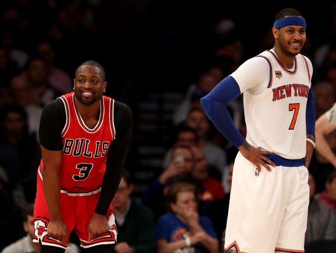 Dwyane Wade's Future Directly Influences Carmelo Anthony's 1