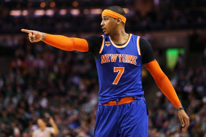 Knicks Preparing for Melo in Camp as Rockets Talks Go 'Dormant' (Report)