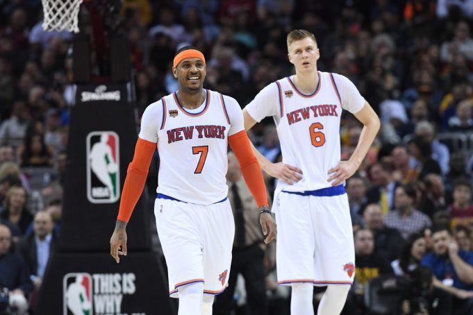New York Knicks News Mix, 8/18/17: Carmelo Anthony Is the Best Teammate, Jamel Artis Signs Deal