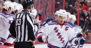 New York Rangers: Ryan McDonagh and Brady Skjei Partake In Drive By Slap Shot Challenge 2